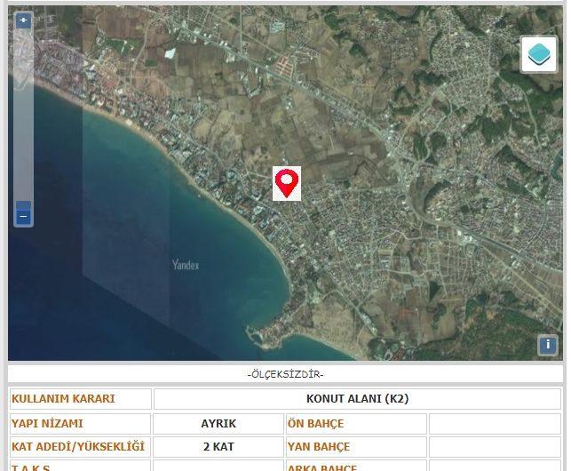 Manavgat Side Kumköy de Köşe Parsel Konut Villa Arsası